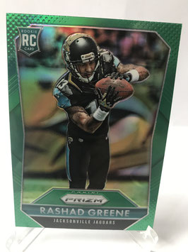 Rashad Greene (Jaguars) 2015 Prizm Green Prizm Parallel RC #278