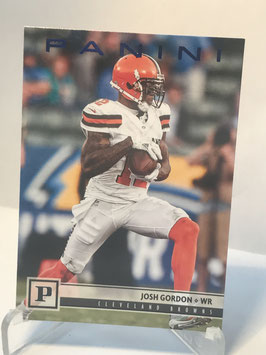 Josh Gordon (Browns) 2018 Panini Blue Knight #68