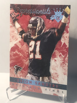 Deion Sanders (Falcons) 2015 Panini Gridiron Kings Expressionists #EX8