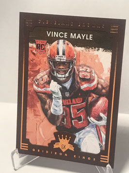 Vince Mayle (Browns) 2015 Panini Gridiron Kings #119