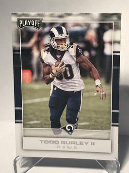 Todd Gurley II (Rams) 2017 Playoff #46