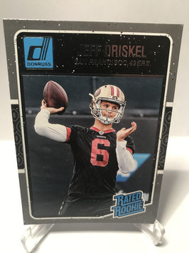 Jeff Driskel (49ers) 2016 Donruss Rated Rookie #374