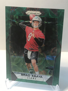 Brad Kaaya (Lions) 2017 Panini Prizm Green Scope Prizm #230