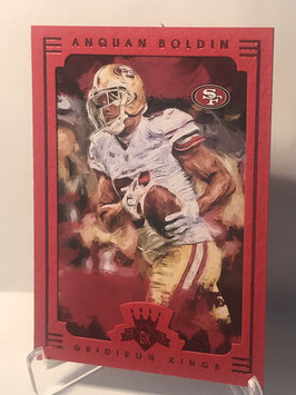 Anquan Boldin (49ers) 2015 Gridiron Kings Red Frame #7