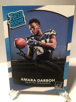Amara Darboh (Seahawks) 2017 Donruss Rated Rookie #307