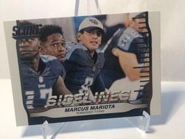Marcus Mariota (Titans) 2016 Score Sidelines #10