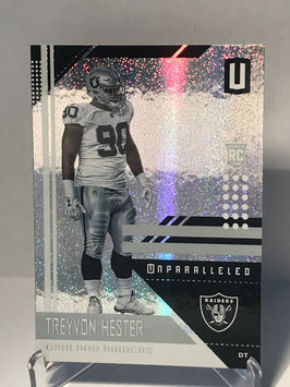 Treyvon Hester (Raiders) 2018 Panini Unparalleled #156