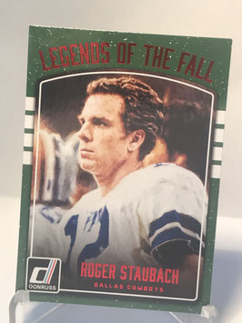 Roger Staubach (Cowboys) 2016 Donruss Legends of the Fall Red #6