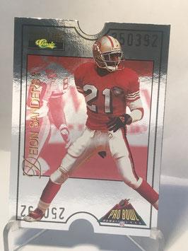 Deion Sanders (49ers) 1995 Classic Pro Line Pro Bowl #PB-29