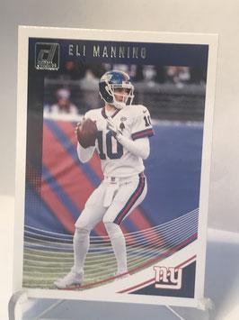 Eli Manning (Giants) 2018 Donruss #203