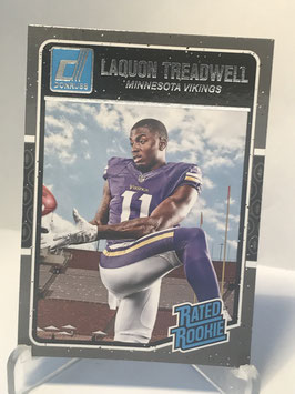 LaQuon Treadwell (Vikings) 2016 Donruss Rated Rookies #383