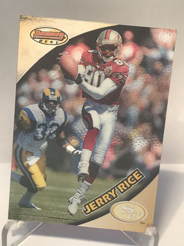 Jerry Rice (49ers) 1997 Bowman's Best #50