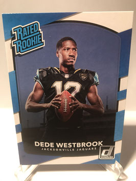 Dede Westbrook (Jaguars) 2017 Donruss Rated Rookie #337