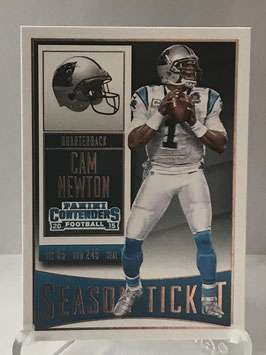 Cam Newton (Panthers) 2015 Contenders #42