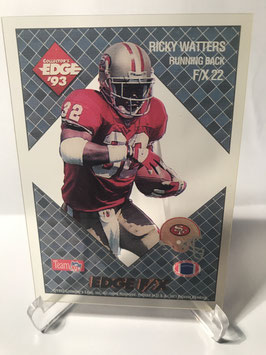 Ricky Watters (49ers) 1993 Collector's Edge F/X #F/X 22