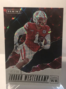 Jordan Westerkamp (Nebraska) 2017 Panini Father's Day Galactic #78