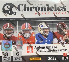 2021 Panini Chronicles Draft Picks Hobby Box