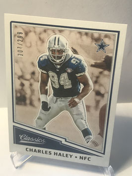 Charles Haley (Cowboys) 2017 Classics Red Back #164