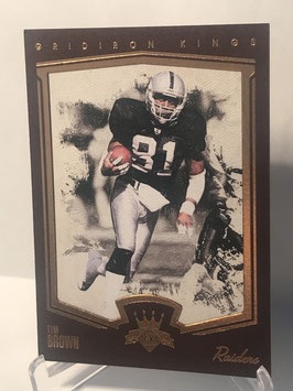 Tim Brown (Raiders) 2015 Gridiron Kings Limited Lithos #175