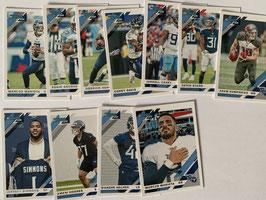 Tennessee Titans 2019 Donruss Base-Teamset