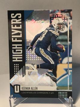Keenan Allen (Chargers) 2018 Panini Unparalleled High Flyers #HF-KA