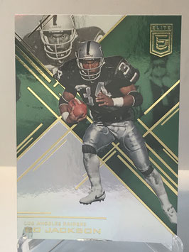 Bo Jackson (Raiders) 2016 Elite Green #87