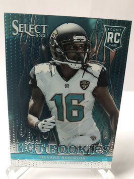 Denard Robinson (Jaguars) 2013 Select Hot Rookies White Hot Parallel #20