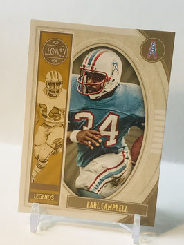 Earl Campbell (Oilers/ Titans) 2019 Legacy Legends #101