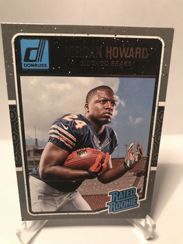 Jordan Howard (Bears) 2016 Donruss Rated Rookie #377