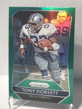 Tony Dorsett (Cowboys) 2015 Panini Prizm Prizms Green #33
