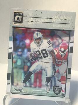 Latavius Murray (Raiders) 2016 Donruss Optic Holo #75