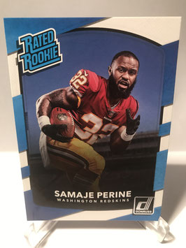 Samaje Perine (Redskins) 2017 Donruss Rated Rookie #306