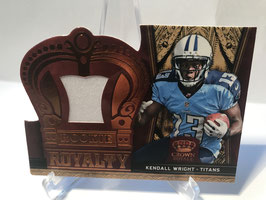 Kendall Wright (Titans) 2012 Crown Royale Rookie Royalty Jersey #18