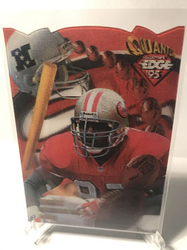 Bryant Young (49ers) 1995 Collector's Edge EdgeTech Quantum Motion Die Cut #31