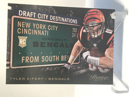 Tyler Eifert (Bengals) 2013 Prestige Draft City Destinations #5