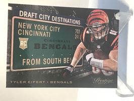 Tyler Eifert (Bengals) 2013 Prestige Draft City Destinations #5