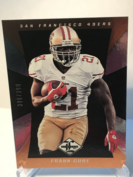 Frank Gore (49ers) 2013 Limited #85