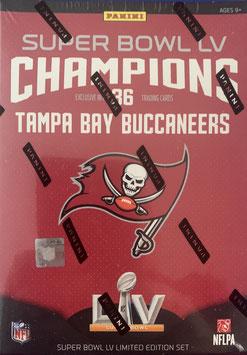 2021 Tampa Bay Buccaneers Super Bowl LV Team Set