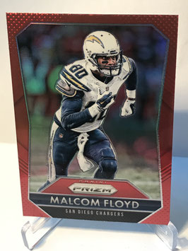 Malcom Floyd (Chargers) 2015 Prizm Red Prizm Parallel #118