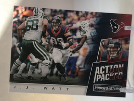 JJ Watt (Texans) 2017 Rookies & Stars Action Packed #16