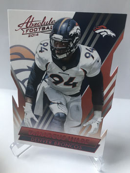 DeMarcus Ware (Broncos) 2014 Absolute Retail Red #99