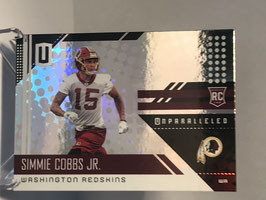 Simmie Cobbs Jr. (Redskins) 2018 Panini Unparalleled #245