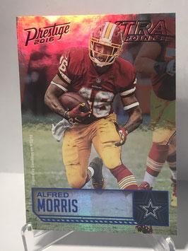 Alfred Morris (Redskins) 2016 Panini Prestige Xtra Points Blue #197