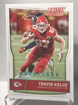 Travis Kelce (Chiefs) 2016 Score Scorecard #163