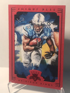 Joique Bell (Panthers) 2015 Gridiron Kings Red Frame #90