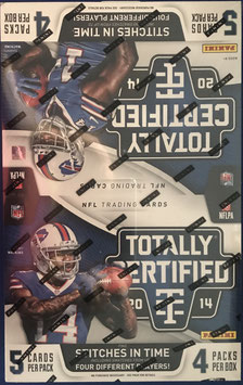 2015 Panini Totally Certified Hobby Box