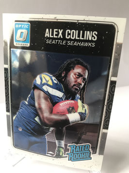 Alex Collins (Seahawks) 2016 Donruss Optic Rated Rookie #151