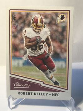 Robert Kelley (Redskins) 2017 Panini Classics Red Back #74