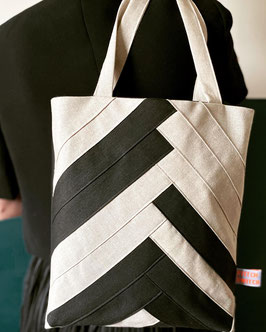 Tote bag Black and White