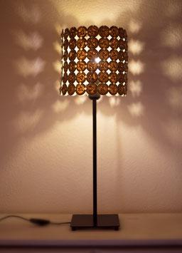 "Kapsel Lampe ""Gold"""